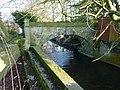 Footbridge adjacent to road bridge, Ham, Berkeley (geograph 2293931).jpg