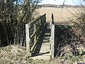 Footbridge near the Shires Track - geograph.org.uk - 1744531.jpg
