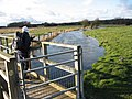 Footbridge over Mill Stream, Eye Mead - geograph.org.uk - 1195757.jpg