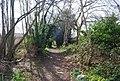 Footpath parallel to Blackthorn Av. (2) - geograph.org.uk - 1243444.jpg