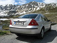 Ford Mondeo Second Generation Wikipedia