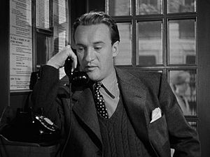 George Sanders - In the trailer for Alfred Hitchcock's Foreign Correspondent (1940)