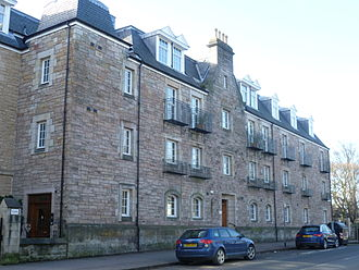 Sophia Jex-Blake - Bruntsfield Hospital, now converted to private apartments, 2010