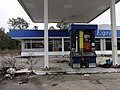 Former Gas Station and pumps, CR136, Suwannee County.JPG