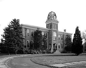 Fort Snelling - Fort Snelling Administration Building, built 1878