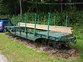 Fort de Fermont and its museum - Ouvrage Fermont - Narrow gauge wagon pic2.JPG