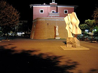 Forte dei Marmi - The Fortino by night.