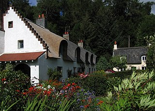 Fortingall Village in the United Kingdom