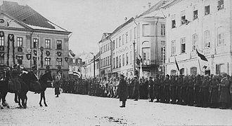 Independence Day (Estonia) - Parade, 1919