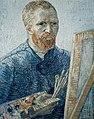 Foto van een zelfportret van Vincent van Gogh, Bestanddeelnr 255-9139.jpg