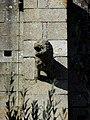 Fougères (35) Église Saint-Léonard Façade sud Gargouille 05.JPG