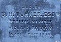 Foundation stone of the Railway Mission, Traffic Street, Nottingham (3).jpg
