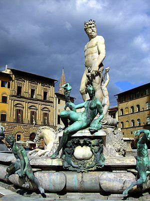 Statue of Neptune in Piazza della Signoria
