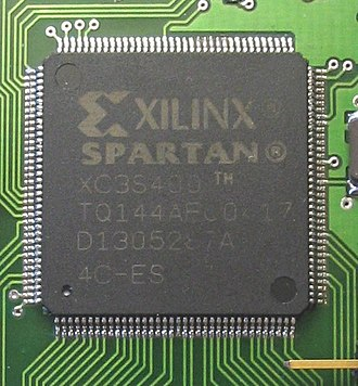 Field-programmable gate array - A Spartan FPGA from Xilinx