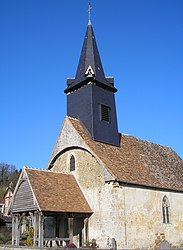 The church in Courtonne-la-Meurdrac