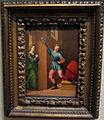 Franciabigio (attr.), san giuliano incontra la moglie dopo aver ucciso i genitori, 1515 ca..JPG
