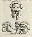 Francisci Ficoronii Reg. Lond. Acad. socii dissertatio de larvis scenicis et figuris comicis antiquorum Romanorum, et ex Italica in Latinam linguam versa (1754) (14595571480).jpg