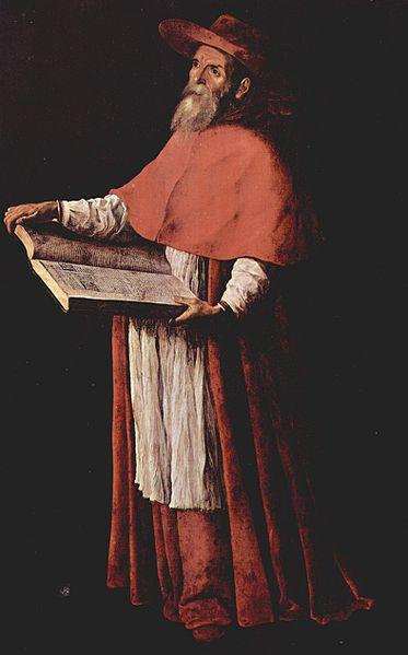 Jerónimo de Estridón según Francisco de Zurbarán