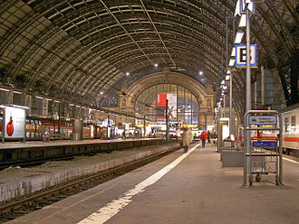 Train shed - Frankfurt