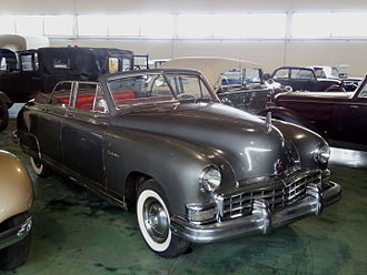Kaiser-Frazer - 1949 Frazer Manhattan four-door convertible