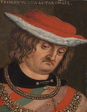 Frederick IV, Duke of Lorraine - Frederick IV by Anton Boys