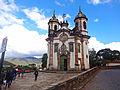 Frente da Igreja de São Francisco de Assis - Ouro Preto - MG.jpg
