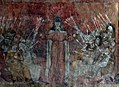 Fresco in the former Abbey of Saint-André-de-Lavaudieu, France.jpg
