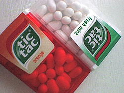 Fresh mint & orange tic tac.JPG