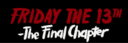 Friday the 13th the Final Chapter logo.png