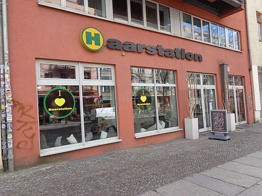 Friseur Haarstation in Berlin-Mitte