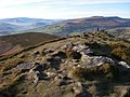 From Sugarloaf summit ridge towards Crug Hywel - geograph.org.uk - 338636.jpg