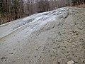 Frost heaves on Bragg Hill Road in Norwich Vermont in March 2012--B.jpg