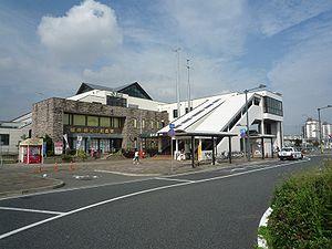 Fujishiro Station - South exit, September 2008