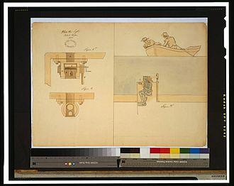 Robert Fulton - Fulton's 1806 submarine design for the U.S. government.
