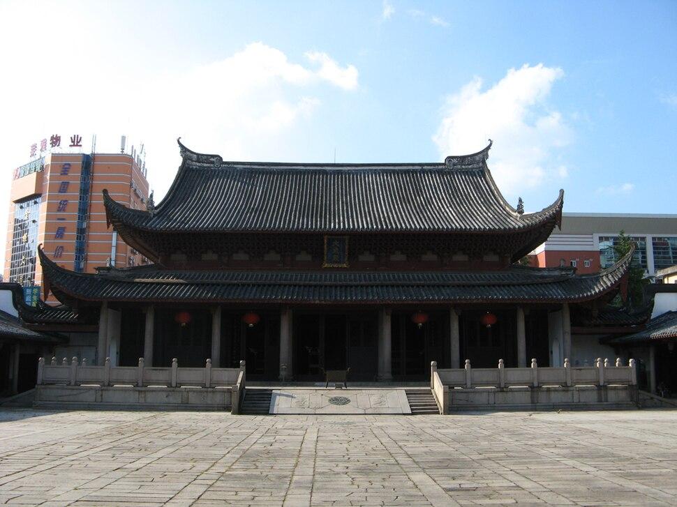 Fuzhou confucian temple