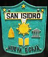 Official seal of San Isidro