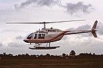G-AVMW Bell Jet ranger Dollars CVT 30-05-88 (29403768547).jpg