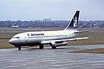 G-BGYL B737-200 Britannia BHX 08-02-87 (40966743680).jpg