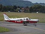 G-WINS Piper Cherokee Six PA-32-300 (35948640511).jpg