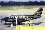 GBevan PA-31 G-AZME at BHX (23783112530).jpg