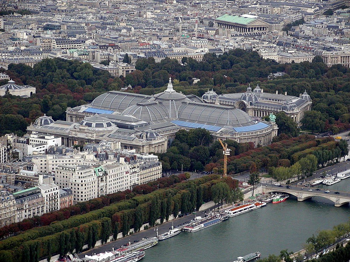 Grand palais wikipedia - Grand palais expo horaires ...