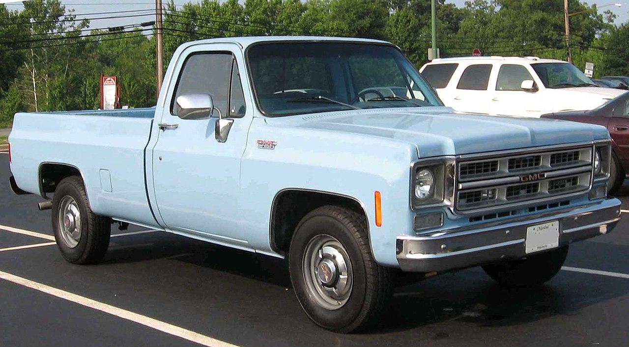 Chevy Work Truck >> File:GMC-CK-pickup.jpg - Wikimedia Commons