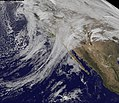 "GOES-11 Captures the ""Pineapple Express"" (5280658245).jpg"