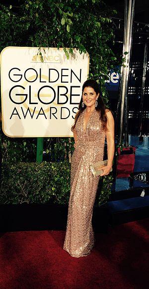 Alex McLeod - McLeod at the 72nd Golden Globe Awards