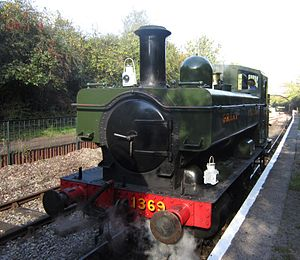 GWR 1366 Class - Preserved no. 1369