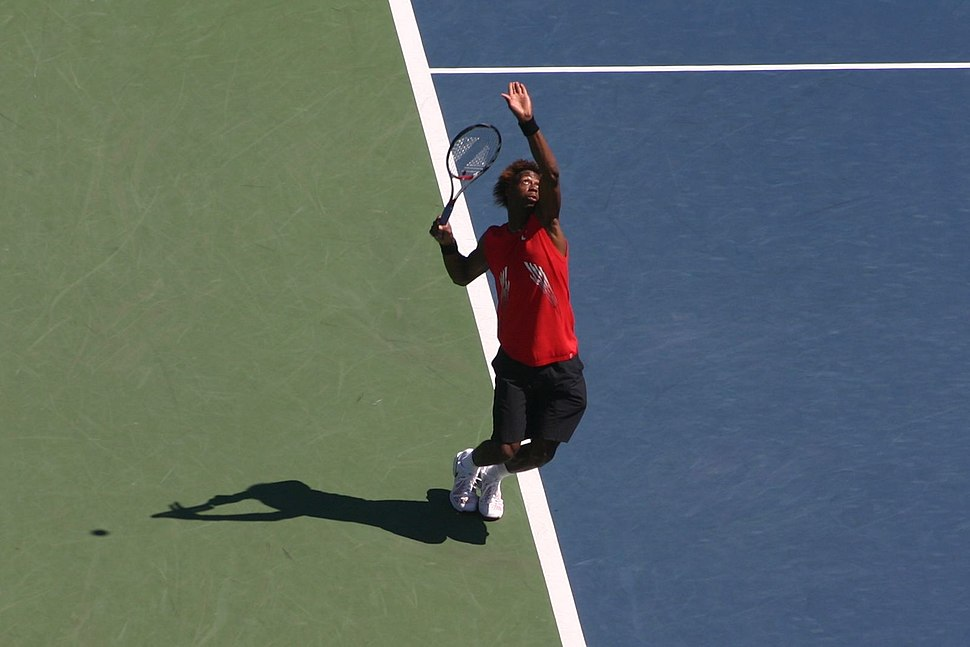 Gael Monfils at the 2008 US Open2