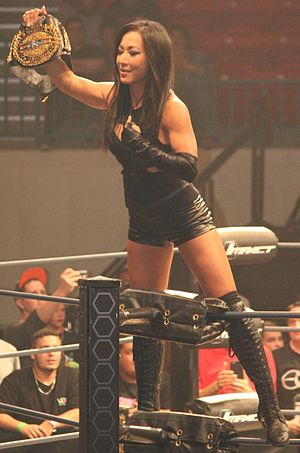 Gail Kim - Kim as TNA Knockouts Champion in 2015