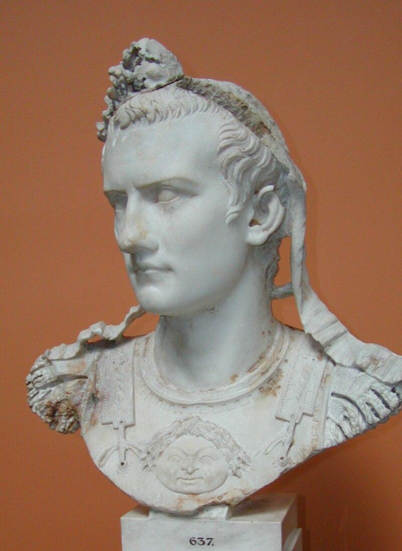 Caligulova busta v Ny Carlsberg Glyptotek