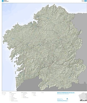 Parroquia (Spain) - Parishes of Galicia.