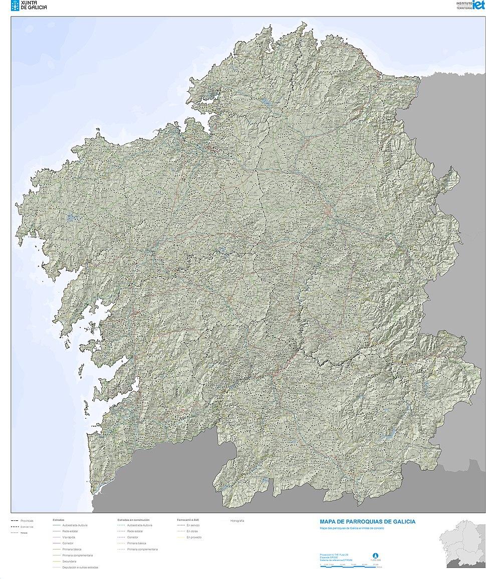 Galicia250k Parroquial